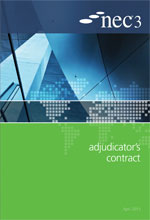 NEC3: Adjudicator