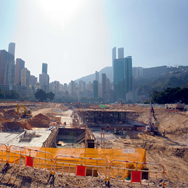 Happy Valley Underground Stormwater Storage Scheme, Hong Kong