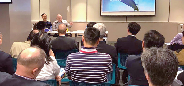 Over 50 HK NEC users attend FAQ session