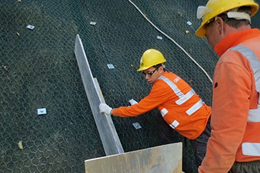 Slope maintenance, New Territories, Hong Kong