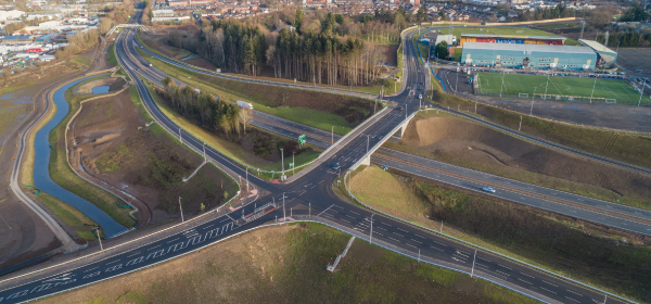Perth's new junction wins NEC contract of the year