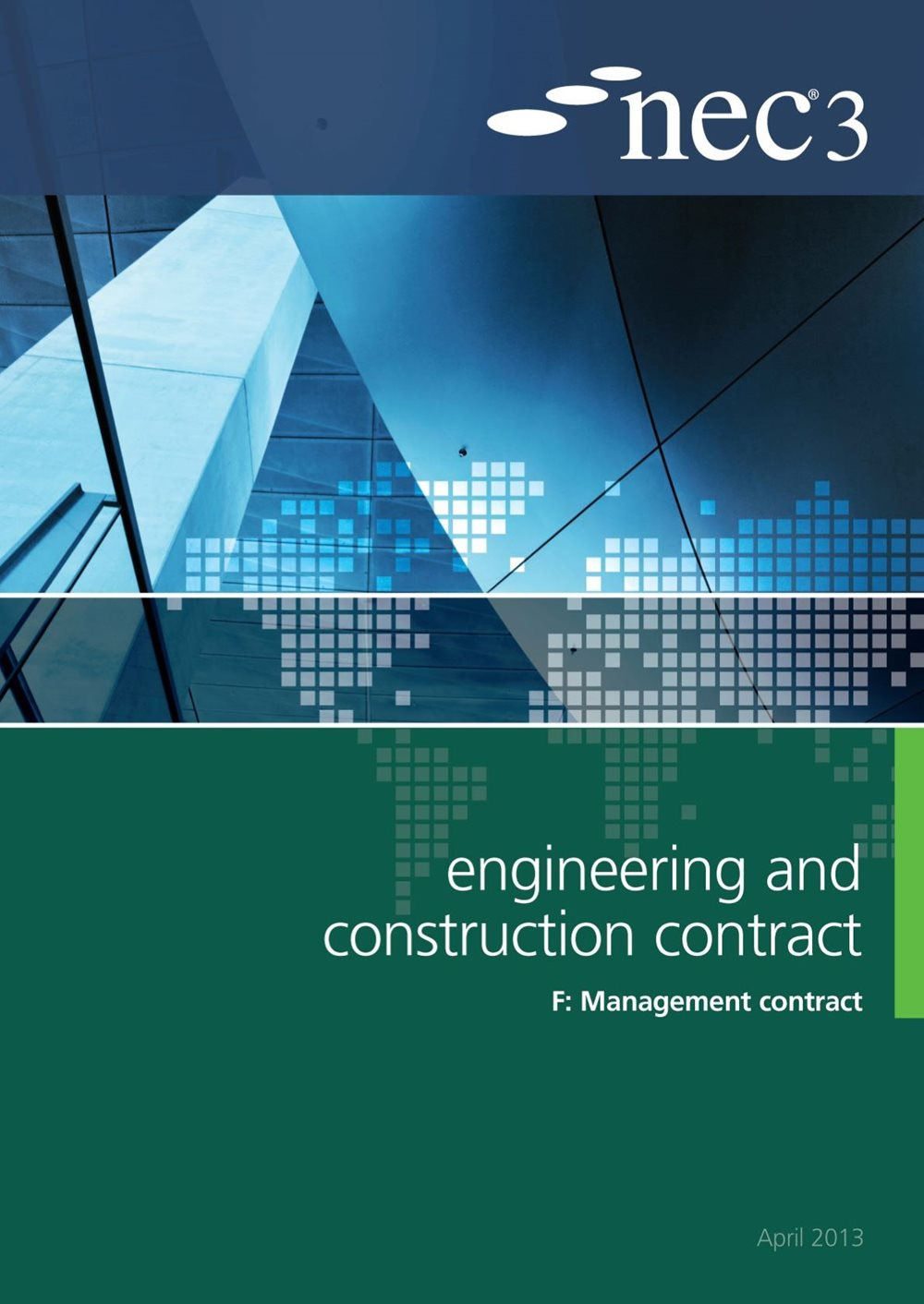 NEC3: Engineering and Construction Contract Option F: management contract