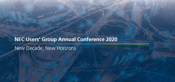 NEC Users' Group Virtual Conference 2020