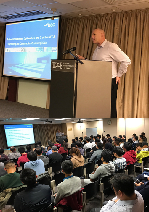 NEC3 Seminar at The Hong Kong Institution of Engineers