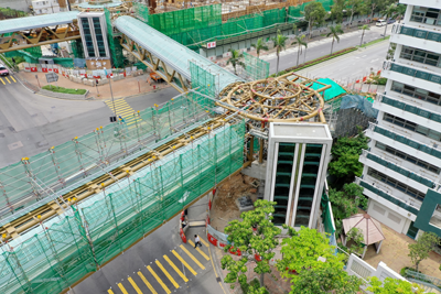 West Kowloon Reclamation – Main Works (Remainder) – Footbridge at Junction of Sham Mong Road/Tonkin Street West in Sham Shui Po