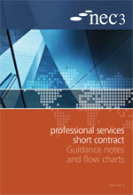 NEC3: Professional Services Short Contract Guidance Notes and Flow Charts