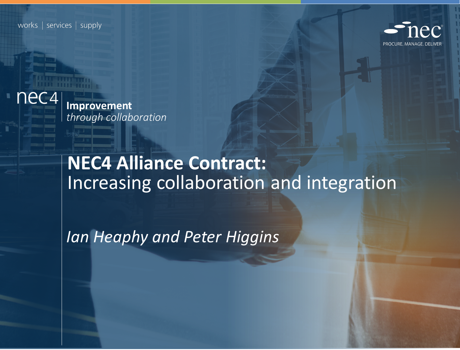 NEC4 Alliance Contract