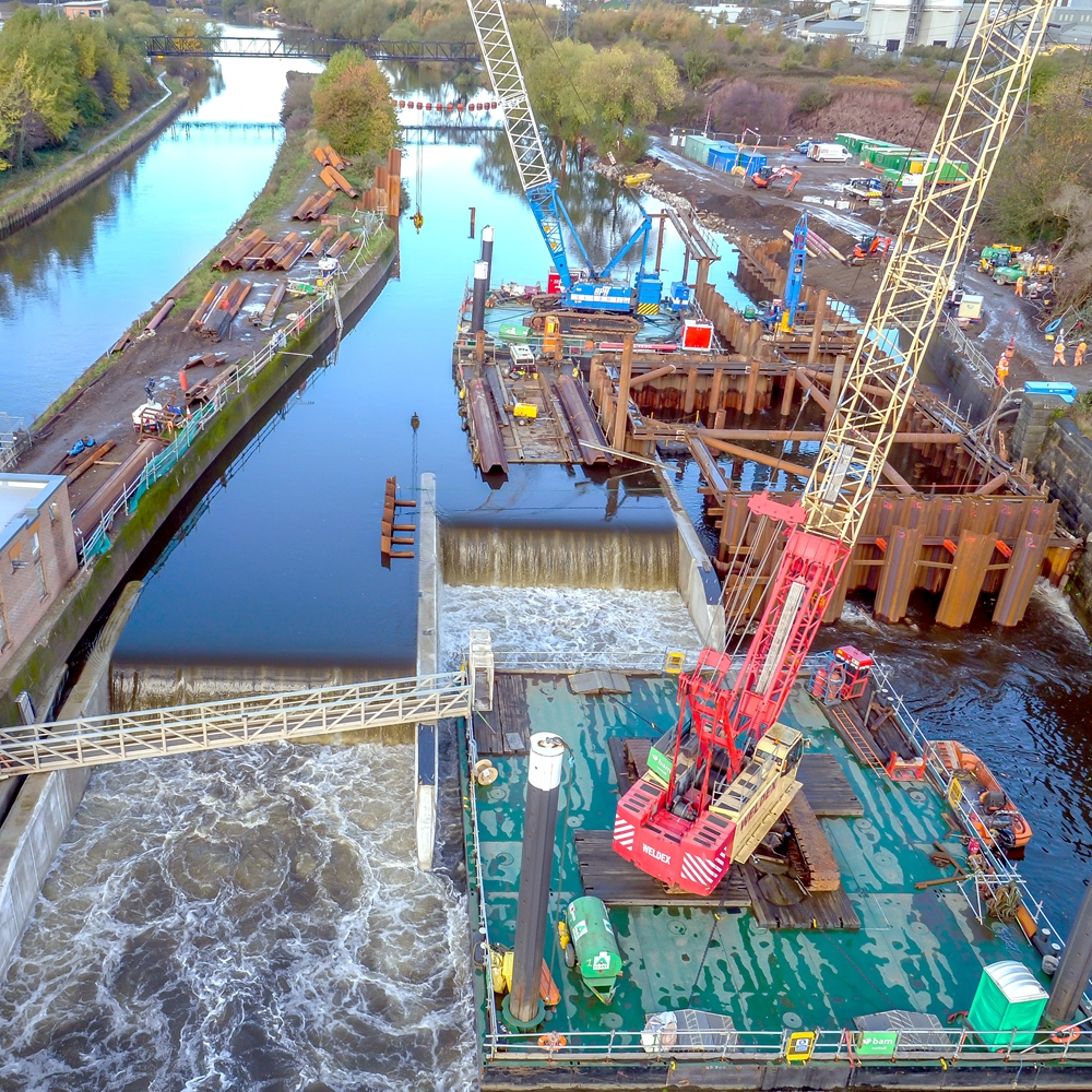 Leeds Flood Alleviation Scheme Phase 1, UK