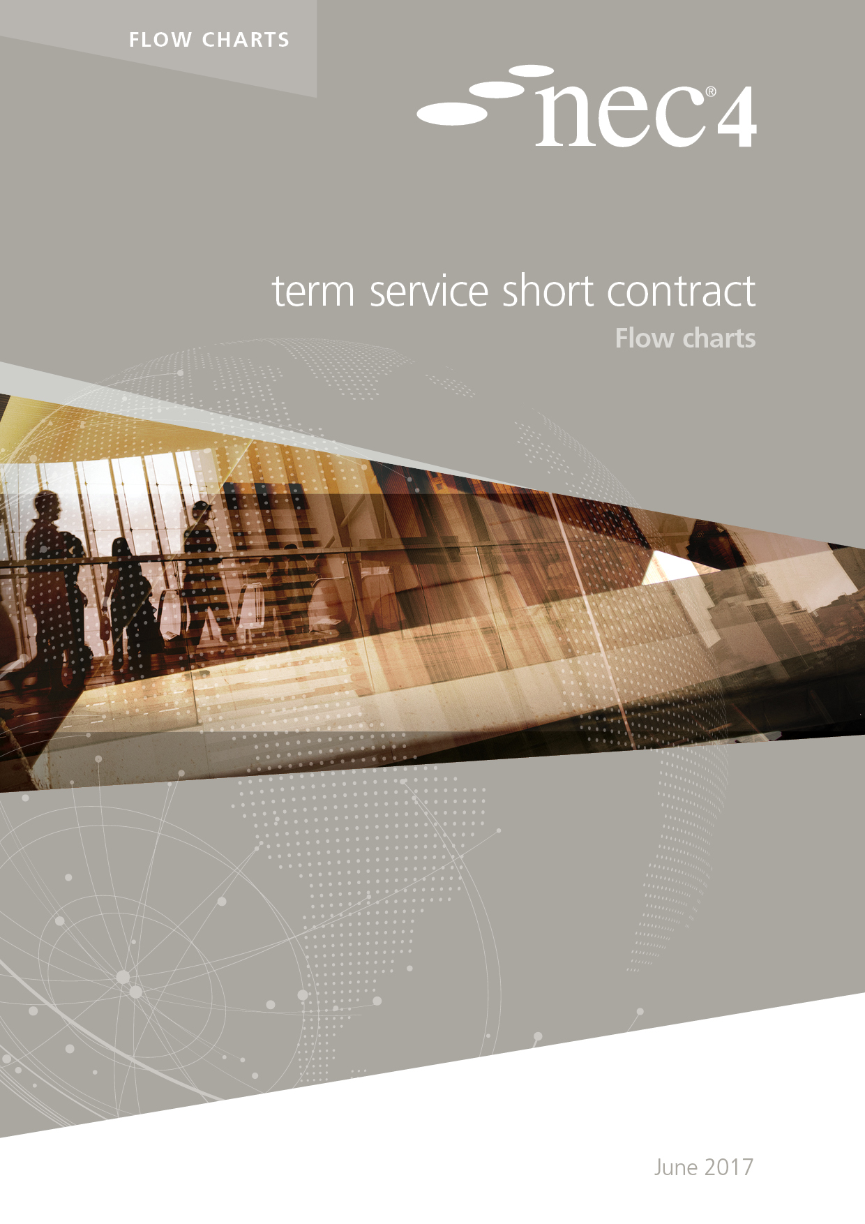 NEC4: Term Service Short Contract Flow Charts