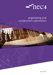 NEC4: Engineering & Construction Subcontract